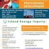 Ka Hei:Island Energy Inquiry™ Professional Development Refresher Workshop Oahu – March 16th, 2015 Download Flyer Here Register Now Time: 9:00am – 4:00pm Location: Wailaua Community Association Note: This workshop intended ...
